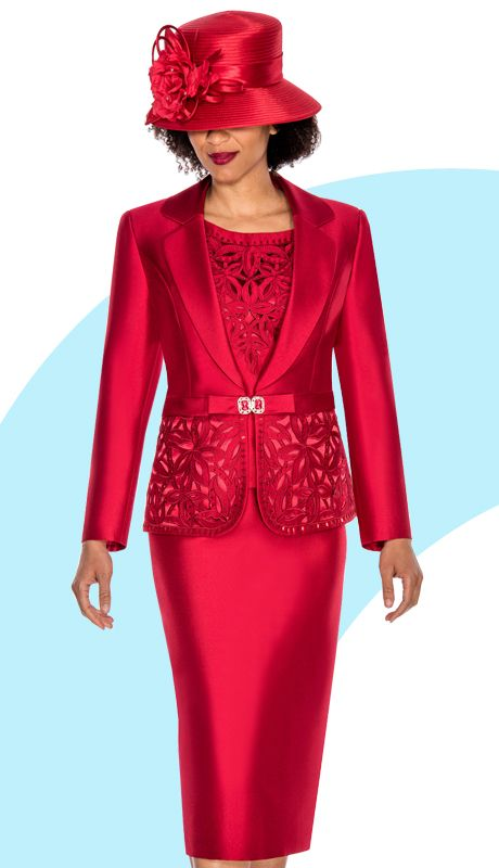 G1007-RE,All Mia By Giovanna Church Suits Fall And Holiday 2016