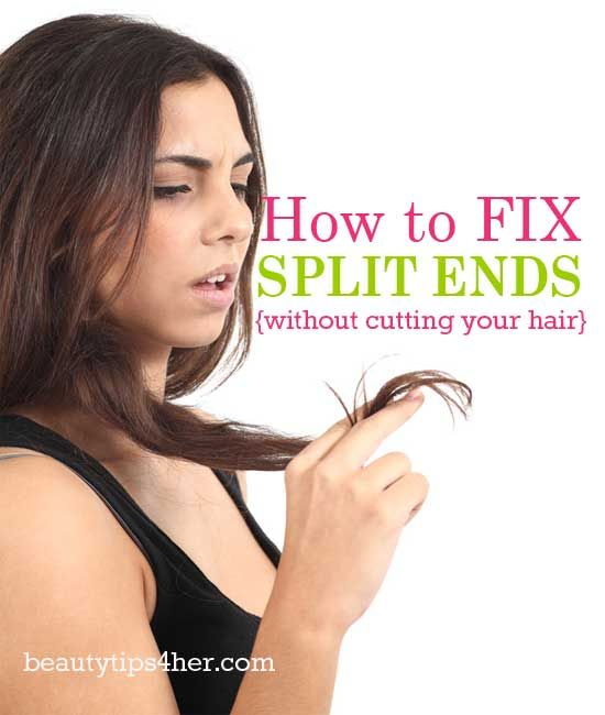 How to Fix Split Ends (without Cutting your Hair ) | Beauty and MakeUp Tips