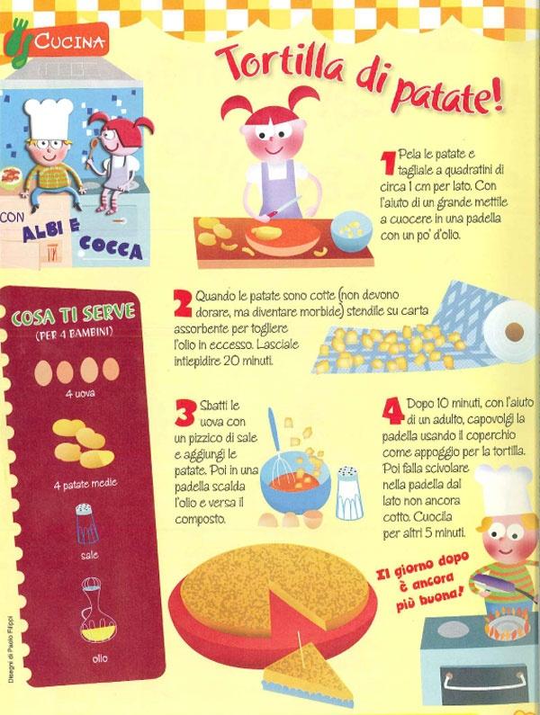 Cucina con i bambini: Tortilla di patate - Ricette - NostroFiglio.it