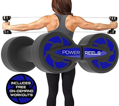Amazon Prime Deal - POWER REELS - The #1 Most Effective Constant Resistance Fitness Products. Build stronger and leaner muscles, train anywhere & see faster results. (BLUE) 5lbs Resistance - http://www.exercisejoy.com/amazon-prime-deal-power-reels-the-1-most-effective-constant-resistance-fitness-products-build-stronger-and-leaner-muscles-train-anywhere-see-faster-results-blue-5lbs-resistance/fitness/