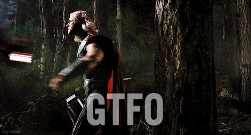 Avengers - A polite gtfo
