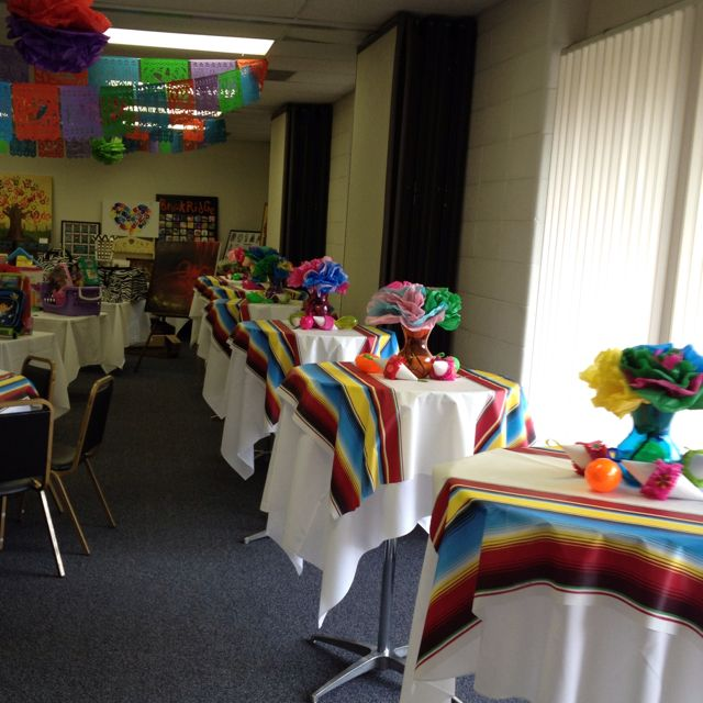 Mexican Themed Home Decor: Fiesta Table Decoration Ideas