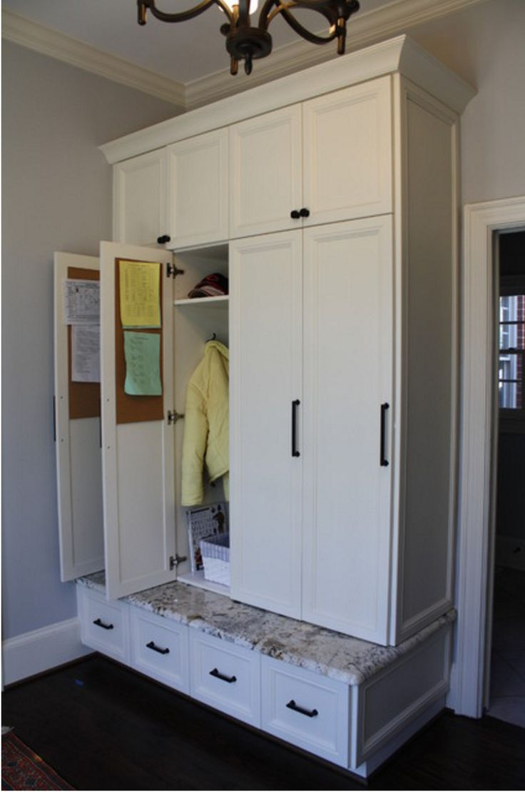 Mudroom lockers with doors                                                                                                                                                                                 More