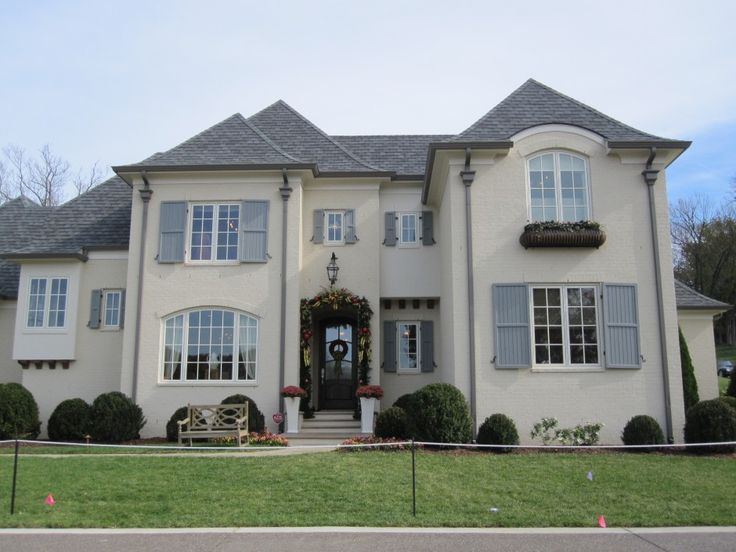 Contemporary sherwin williams amazing gray fresh at for Townhouse exterior