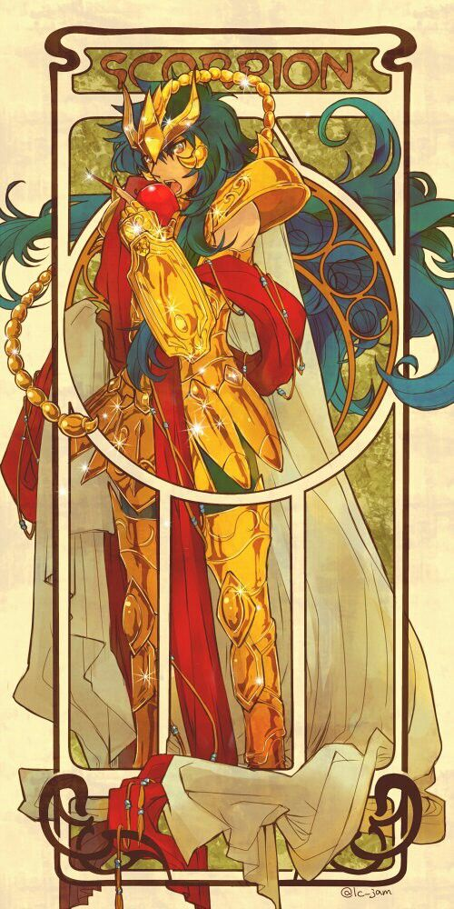 Saint Seiya The lost canvas Kardia