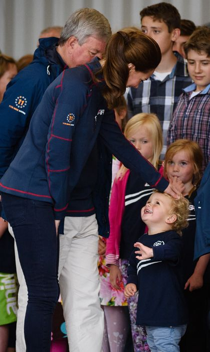 Kate Middleton talks to kids, reveals Prince George thinks he's 3