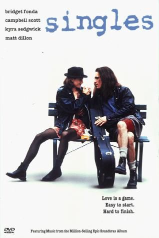 Directed by Cameron Crowe.  With Bridget Fonda, Campbell Scott, Kyra Sedgwick, Sheila Kelley. A group of twenty-something friends, most of whom live in the same apartment complex, search for love and success in grunge-era Seattle.