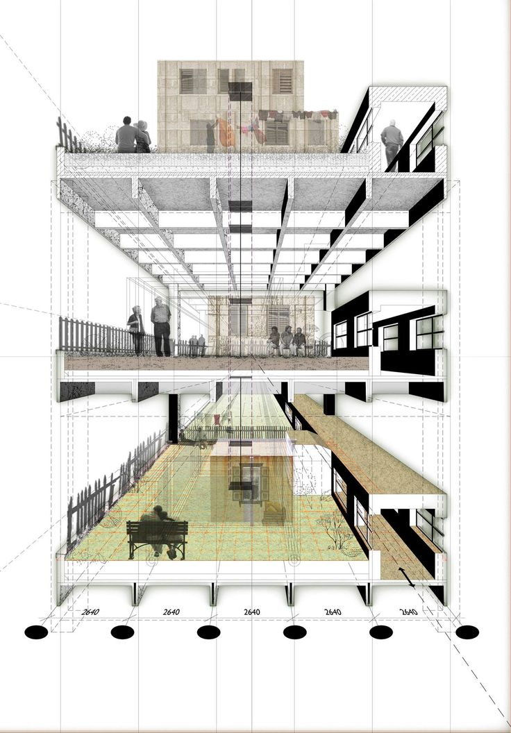 535 Best Sectional Axonometric Or Perspective Views Images