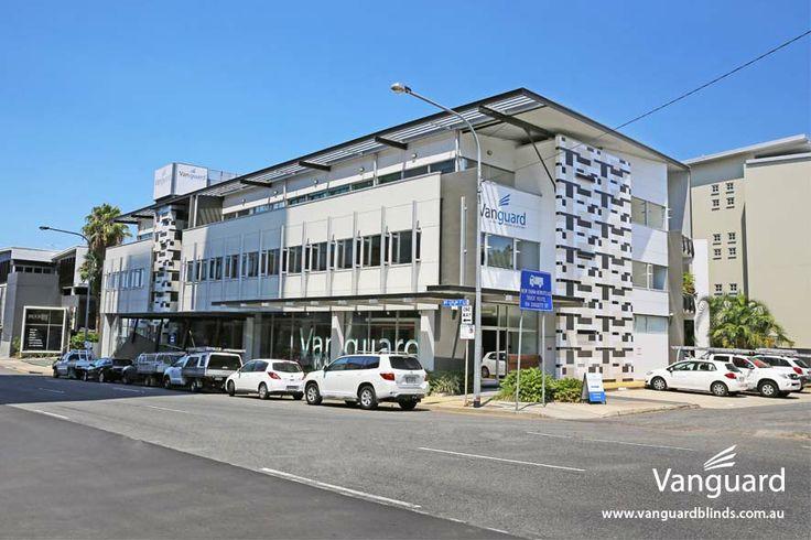 Vanguard Brisbane showroom, street view - Visit us today!