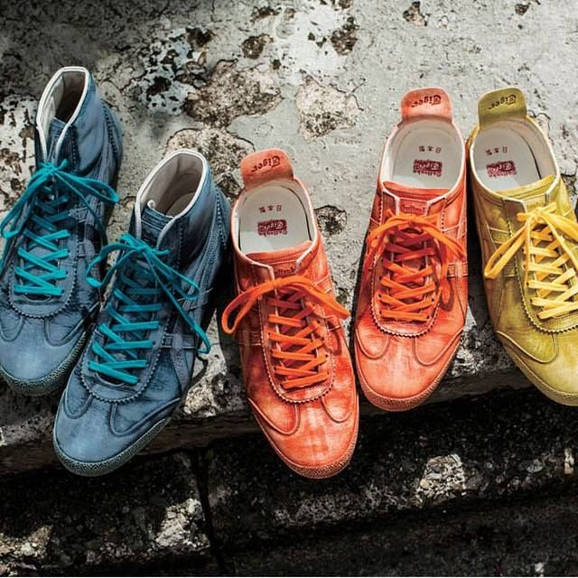 save off 04b9a d230e Onitsuka Tiger Mexico Mid Runner Deluxe   Mexico 66 Deluxe (Nippon Made  Saddle Antique)   Onitsuka Tiger in 2019   Onitsuka tiger, Onitsuka tiger  mexico 66, ...
