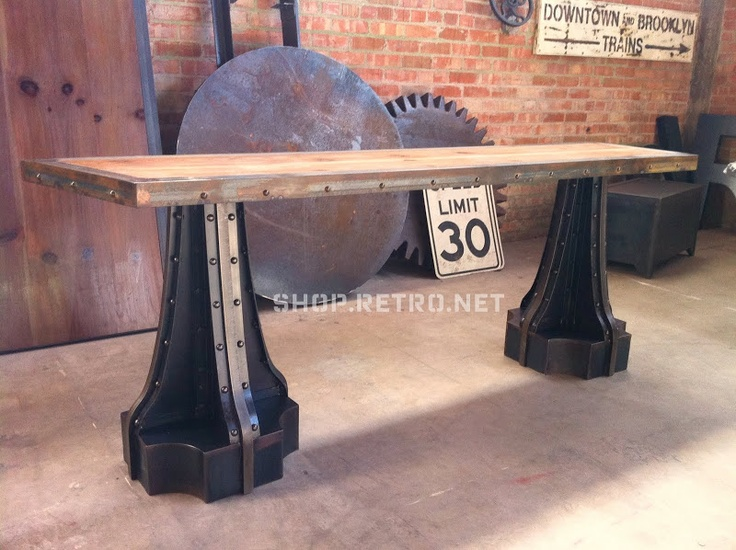 The Mansion On The Hill [By Alex A. ]   (via Vintage Industrial Inspired  Furniture.