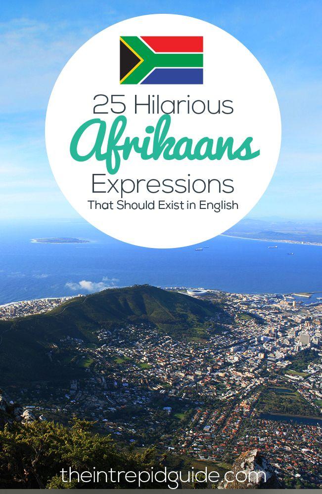 #learnafrikaans #afrikaansexpressions #slimvis