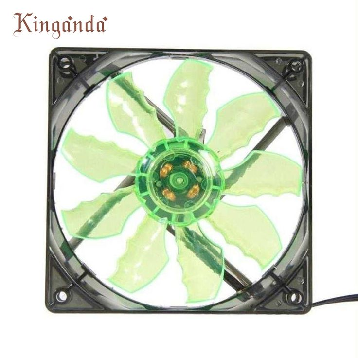 Fancy Good Sale Green LED Light Quite mm DC V Pin PC Computer Case Cooling Cool