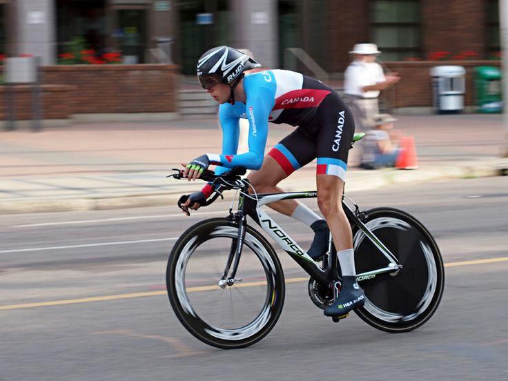 Tour Alberta 2013 trials in Edmonton, AB.