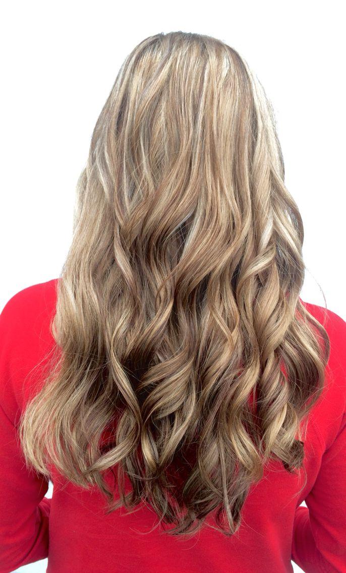 Ashy Lowlights | modern highlights for blonde hair, dark