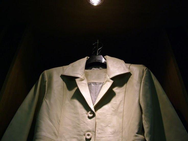 Как почистить кожаный красный пиджак