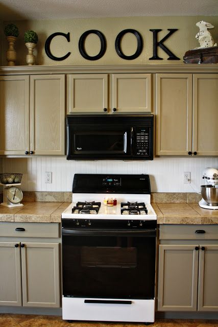1000 ideas about tan kitchen walls on pinterest home Home depot stock cabinets white