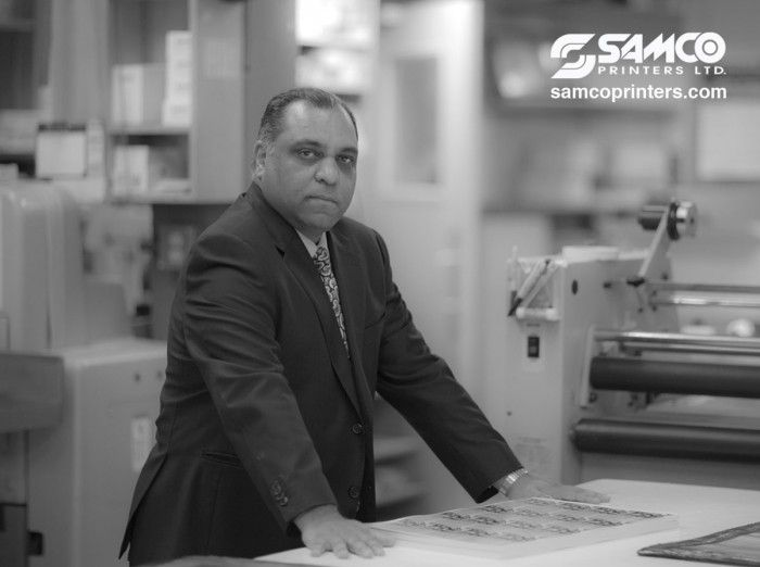 An interview of Samco Printers' President, Sam Hirji by the Aga Khan Foundation Canada about his involvement with the World Partnership Walk.