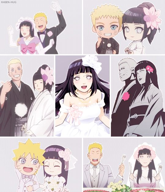 ♥ Naruto and Hinata + wedding