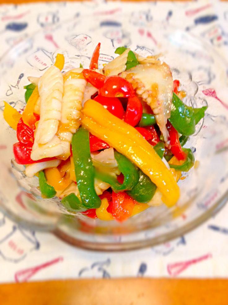 これは使えるミニトマトといかで作る料理レシピセレクト