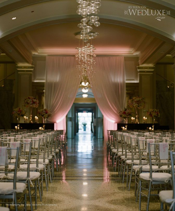 Vancouver Club Wedding Ceremony Foyer Lobby