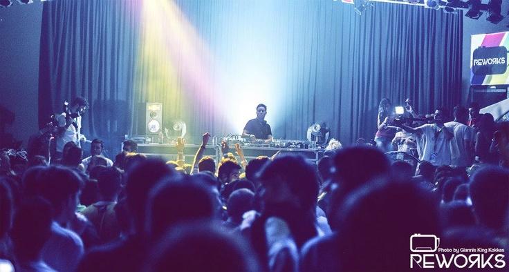 Backstage at Reworks Festival 2012