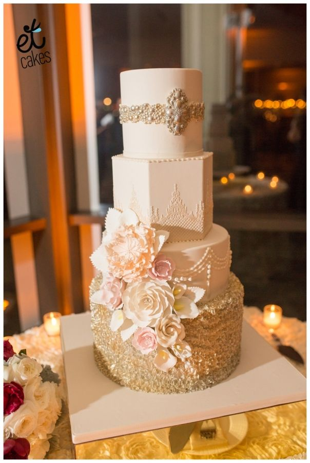 38 best wedding cakes images on pinterest miami wedding cake wedding and custom cake. Black Bedroom Furniture Sets. Home Design Ideas