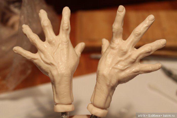 Как я леплю руки гномам [Мини мастер-класс от Катрушовой Татьяны] / Лепка / Бэйбики. Куклы фото. Одежда для кукол