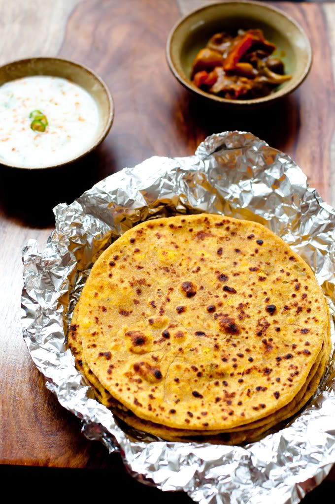 Muli Paneer Paratha Make this protein rich Muli Paneer Paratha with the goodness of radish, paneer and Indian spices. It makes a balanced meal for your family. Serve it with Raitha/Pickle or Dhal. #lunchboxideas #kidfriendly #proteinrich