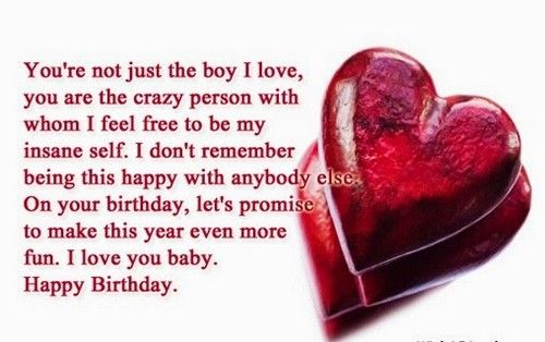 Your boyfriend's birthday is a special event. You look forward to this the whole year and research ideas on how to surprise him with the best celebration. But sometimes, you would find that writing the birthday message on your card or letter can be tricky. How do you express how much he means to you? How do you tell him you love and cherish him?