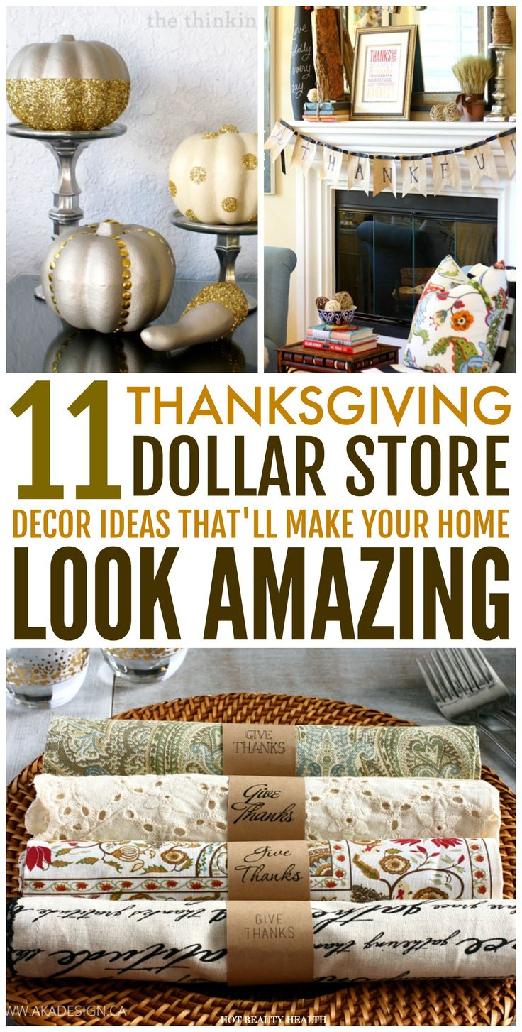 Thanksgiving Decoration Ideas Pinterest Unique 11 Dollar ...