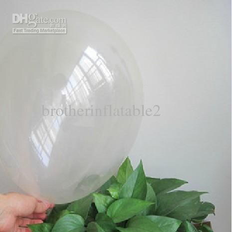 Wholesale Clear Balloon - Buy 10 Inch Transparent Balloons Clear Latex Free Balloon Helium Balloons, $0.1 | DHgate.com