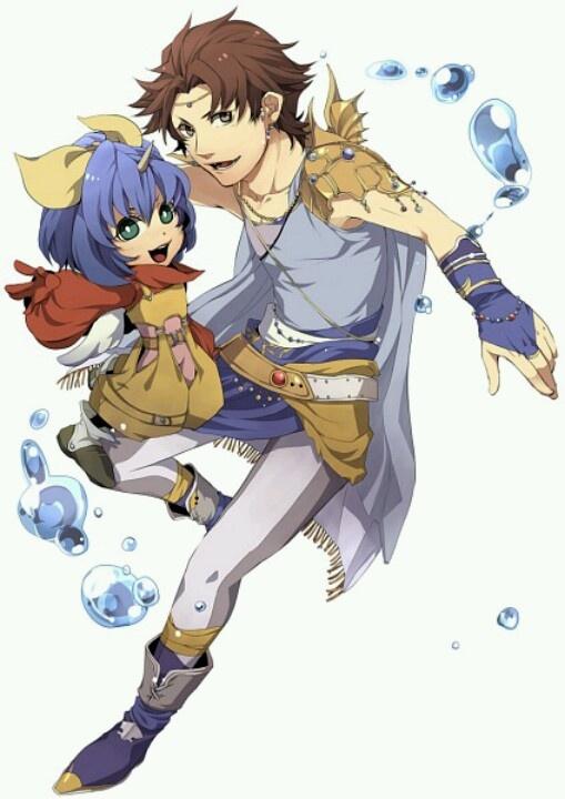 Bartz and Eiko - Final Fantasy 5 - Final Fantasy 9