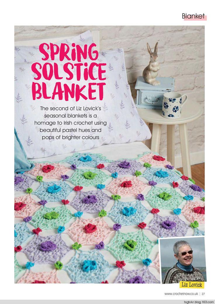 Spring Solstice Blanket from Crochet Now #12 2017
