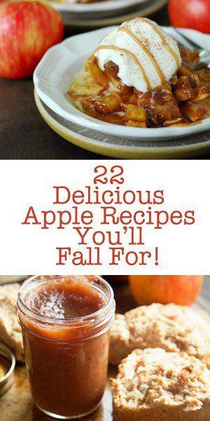 22 Delicious Apple Recipes