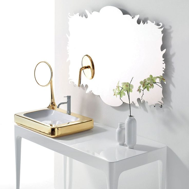 Bisazza Organico Stainless Steel Mirror