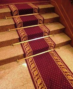 Tringles d'escaliers - Collection TRADITION pour tapis d'escaliers