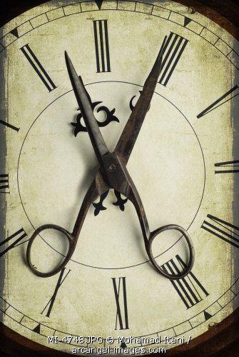 Barber Shop clock