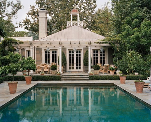 Pool House Dream Home Guest Pool Houses Pinterest