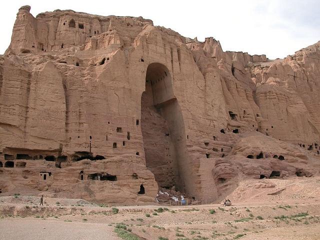 Bamiyan Valley Buddha cave. http://unescoheritagesites.blogspot.com/2012/07/archaeological-remains-of-bamiyan-valley.html