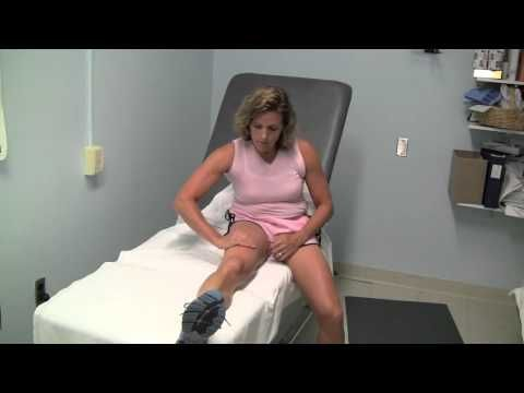 Michigan State University Rehabilitation: Lymphedema Upper Leg Self Massage - YouTube