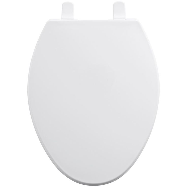 KOHLER Brevia Elongated Closed Front Toilet Seat with Quick-Release Hinges in White