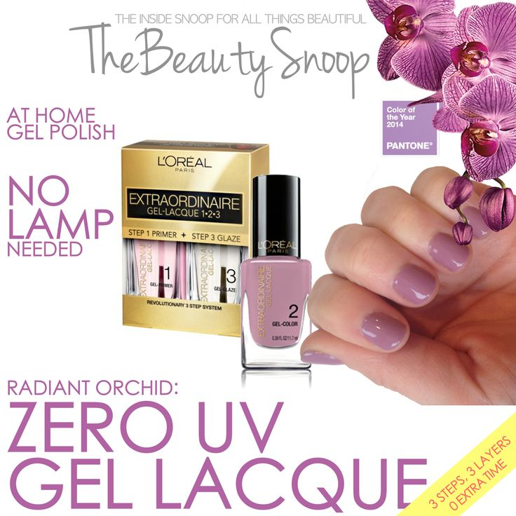 DITCH THE UV: LOREAL GEL LACQUE this stuff is so good! I need more colors