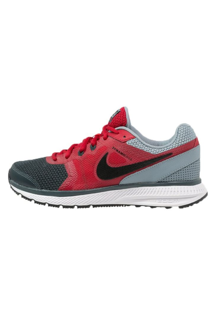 Nike Performance ZOOM WINFLO - Demping hardloopschoenen - classic charcoal/black/gym red/grey mist - Zalando.nl