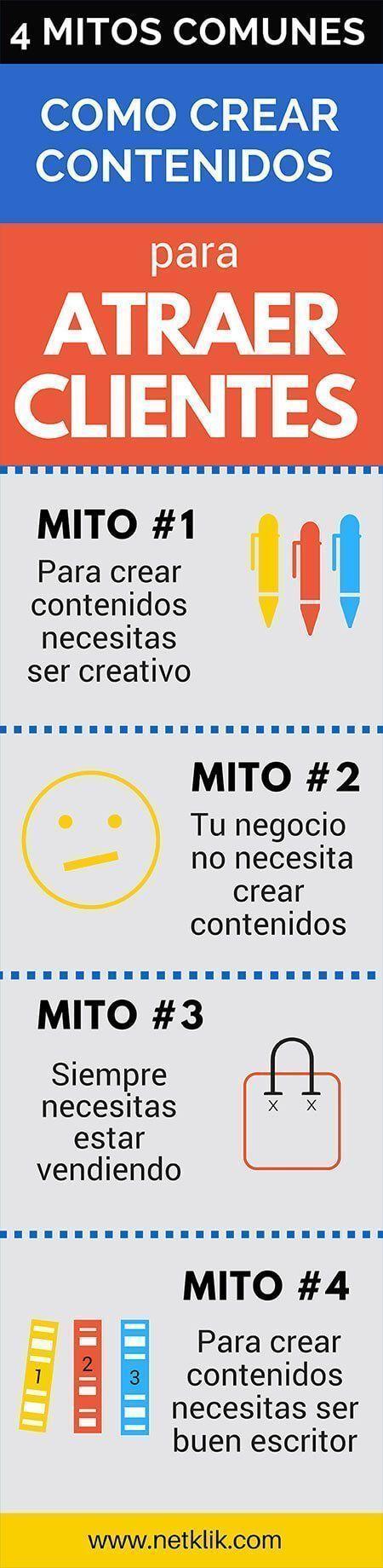 Cómo crear contenidos para atraer clientes: 4 mit…