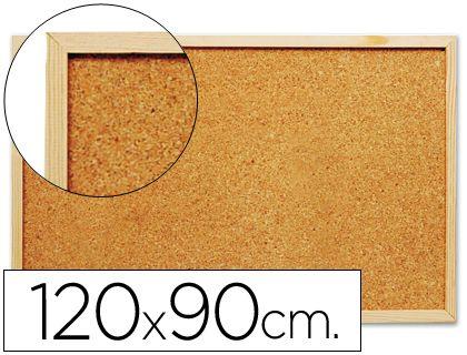 Tablero de corcho grande de 120 x 90 cm. ¡Más barato imposible!