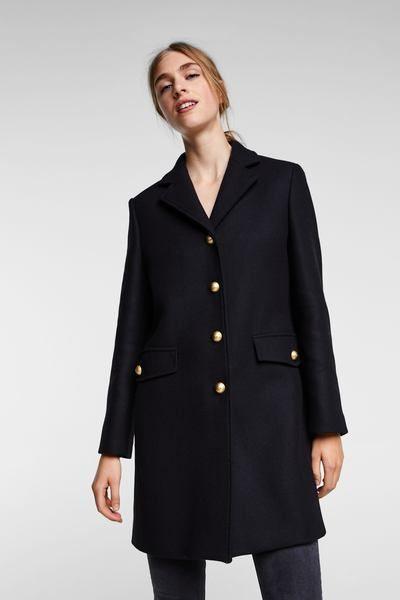 Zara Y Pinterest 2019 Botones Fall Coat Abrigo Winter En dwxYngYX8