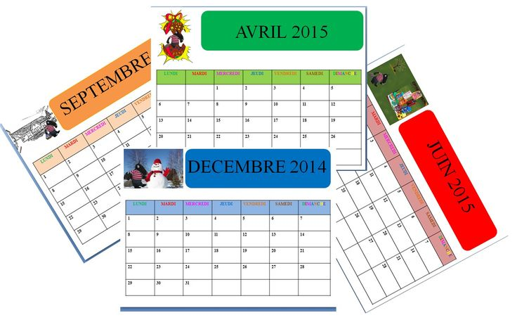 calendrier 201/2015