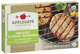 Applegate turkey burgers