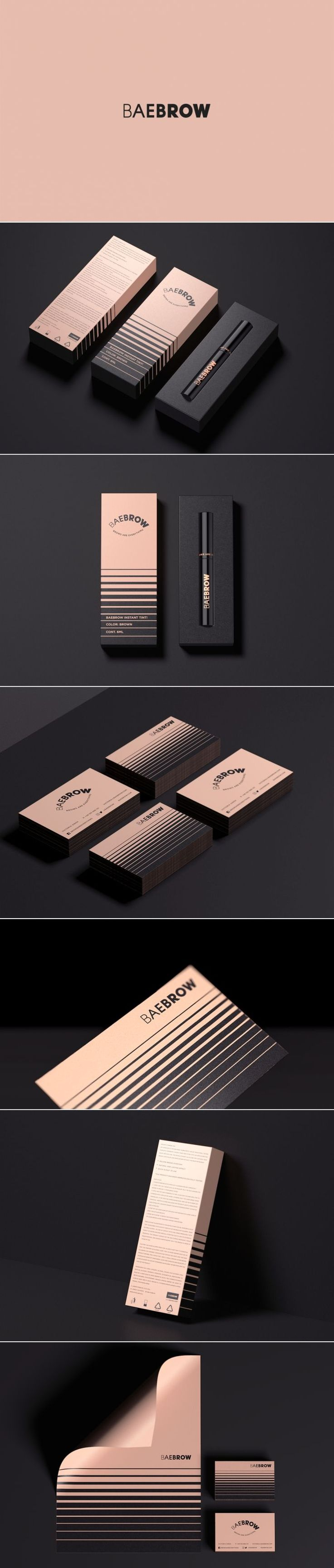 Baebrow Cosmetics — The Dieline - Branding & Packaging Design